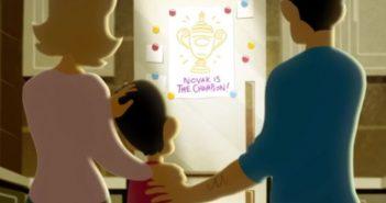 """[Vídeo] """"Adje"""". O impressionante filme de animação que relata a vida de Djokovic"""
