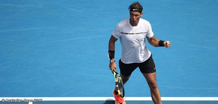 """[Vídeo] Este ponto """"vintage"""" de Rafael Nadal arrancou aplausos de todo o estádio"""
