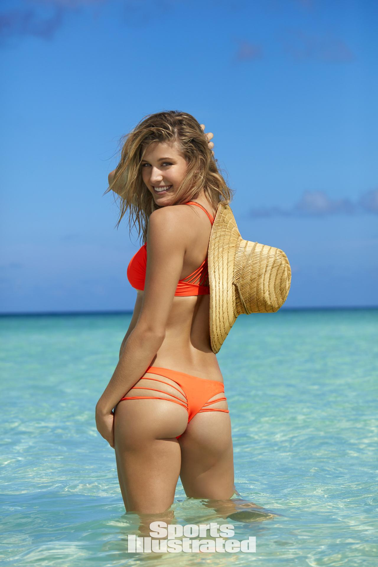 Canadian tennis star Eugenie Bouchard posed for SI's Swimsuit ...