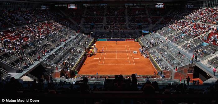 Grelha principal do WTA Premier de Madrid