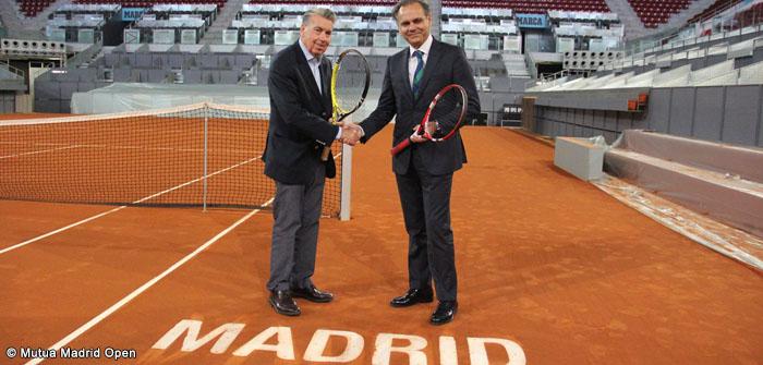 Quadro principal do Masters 1000 de Madrid